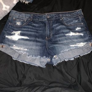 American Eagle Tomgirl Short Shorts